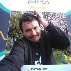 Selfie at Perry Hall parkrun