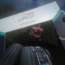 Selfie at Pontypridd parkrun