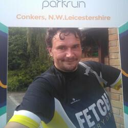 Selfie at Conkers parkrun