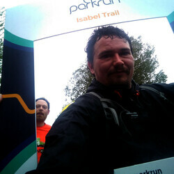 Selfie at Isabel Trail parkrun