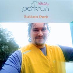 Selfie at Sutton Park parkrun