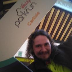 Selfie at Carlisle parkrun