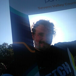 Selfie at Severn Valley Country parkrun